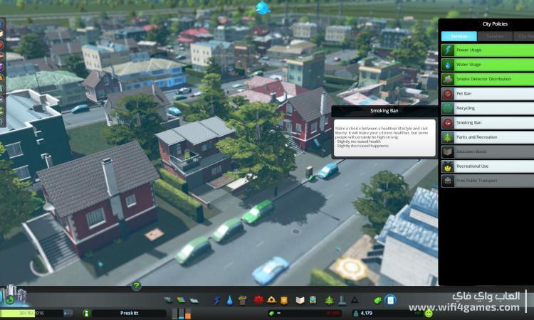 تحميل لعبة cities skylines مجانا